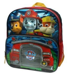 Paw Patrol Fire Truck Flashing Headlights Backpack